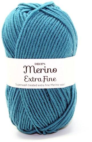 Drops Merino Extra Fine Uni Colour 28 Noordzee
