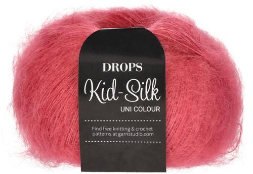 Drops Kid-Silk Uni Colour 32 Raspberry