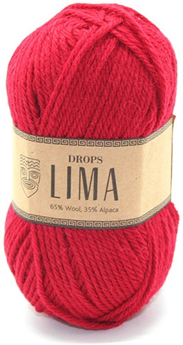 Drops Lima Uni Colour 3609 Red