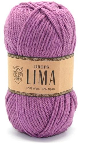 Drops Lima Uni Colour 4088 Heidekruid