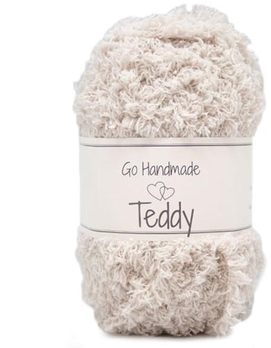 Go Handmade Teddy 16 Beige