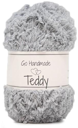 Go Handmade Teddy 47 Light Grey