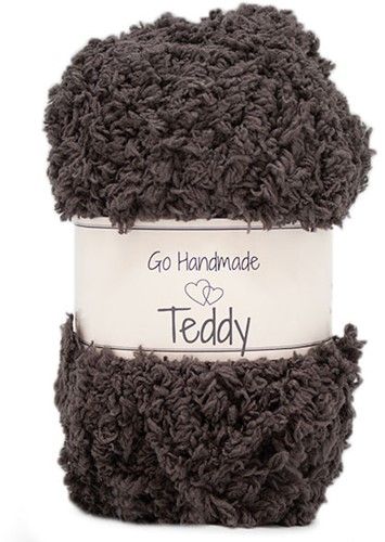 Go Handmade Teddy 49 Dark Brown