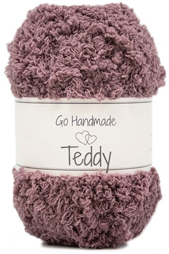 Go Handmade Teddy 76 Dark Lavender