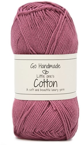 Go Handmade Little Ones Cotton 32 Rose