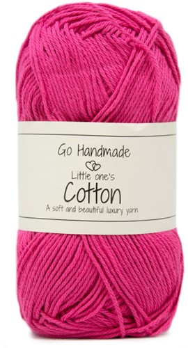 Go Handmade Little Ones Cotton 34 Pink