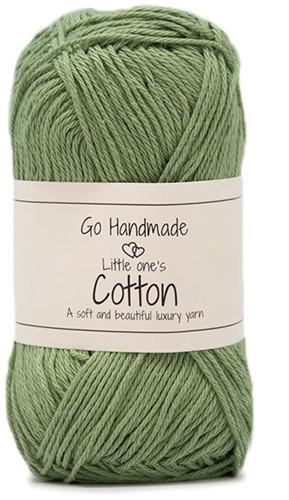 Go Handmade Little Ones Cotton 44 Apple Green