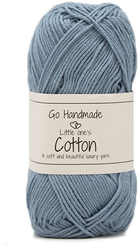Go Handmade Little Ones Cotton 46 Jeans Blue