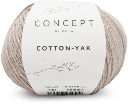 Cotton-Yak Top Breipakket 3 38/44 Beige