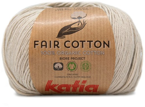 Katia Fair Cotton 11 Pearl Light Grey