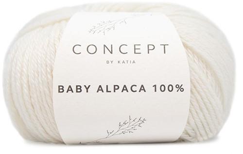 Katia Baby Alpaca 100% 500 Off White