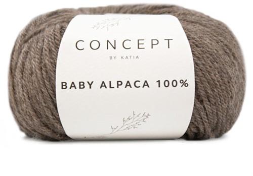 Katia Baby Alpaca 100% 501 Fawn brown
