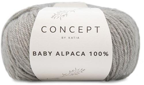 Katia Baby Alpaca 100% 503 Light grey