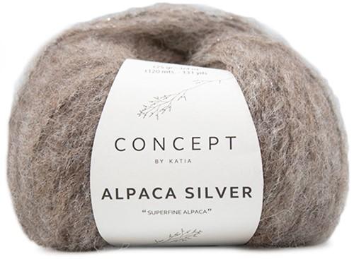Katia Alpaca Silver 257 Brown silver