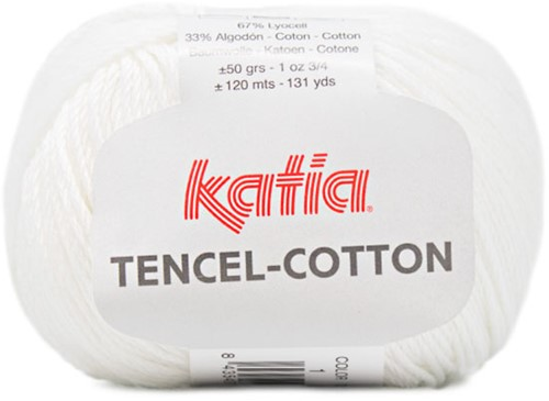 Katia Tencel-Cotton 001 White