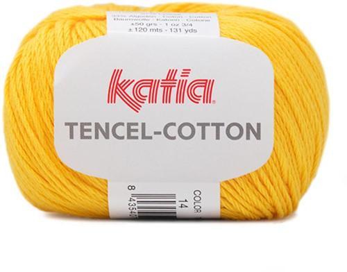 Katia Tencel-Cotton 014 Lemon yellow