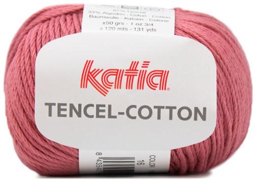Katia Tencel-Cotton 016 Raspberry red