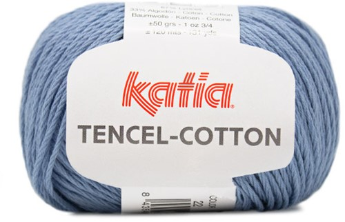 Katia Tencel-Cotton 022 Blue