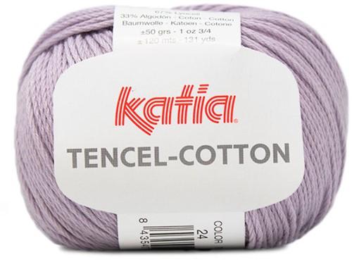 Katia Tencel-Cotton 024 Light lilac