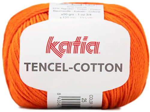 Katia Tencel-Cotton 025 Orange