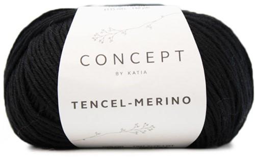 Katia Tencel-Merino 105 Black