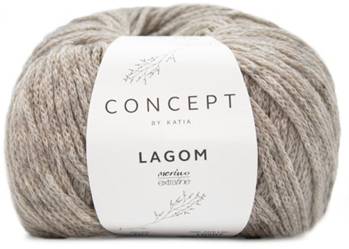 Katia Lagom 101 Grey beige