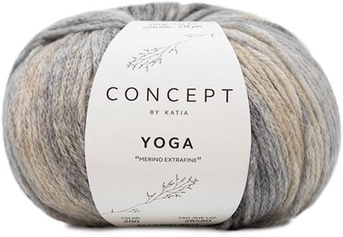 Katia Yoga 200 Grey / Beige