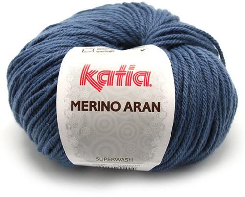 Katia Merino Aran 58 Medium blue