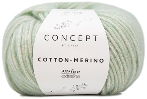 Katia Cotton-Merino 132 Green water