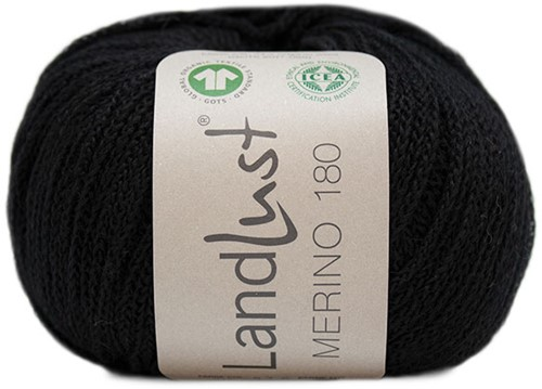 Lana Grossa Landlust Merino 180 210 Black