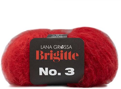 Lana Grossa Brigitte No.3 4 Red
