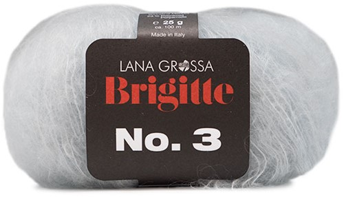 Lana Grossa Brigitte No.3 9 Silver-Grey