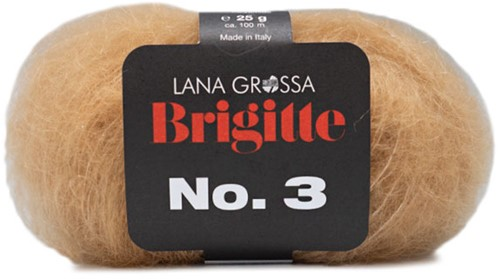 Lana Grossa Brigitte No.3 19 Camel