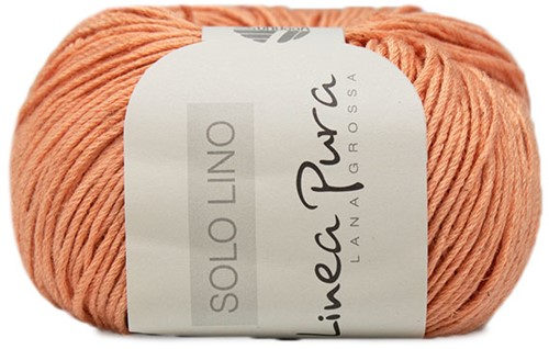 Lana Grossa Solo Lino 033 Apricot