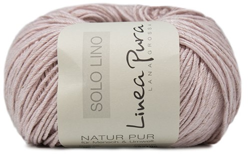Lana Grossa Solo Lino 038 Antique Pink