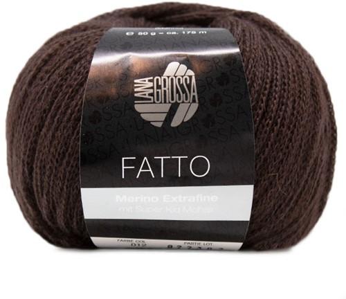 Lana Grossa Fatto 12 Dark Brown