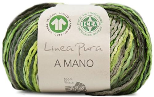 Lana Grossa A Mano 003 Green / Soft Yellow / Grey