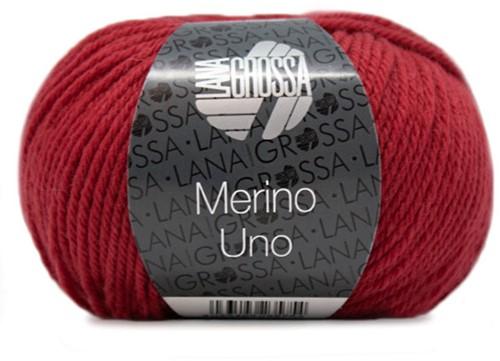 Lana Grossa Merino Uno 031 Dark Red