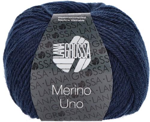 Lana Grossa Merino Uno 004 Night Blue