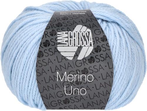 Lana Grossa Merino Uno 008 Light Blue