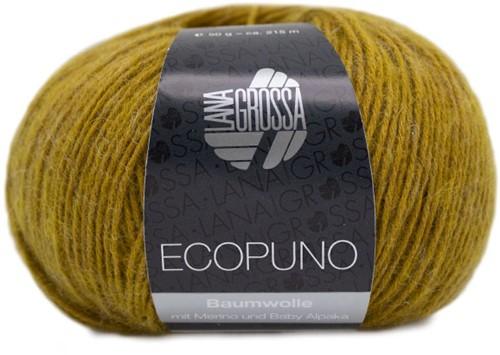 Ecopuno Zomervest Breipakket 2 44/46 Curry yellow