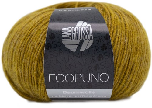 Ecopuno Zomervest Breipakket 2 48 Curry yellow