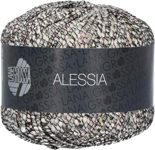Alessia Ajour Trui Breipakket 3 40/42 Anthracite / gray / natural