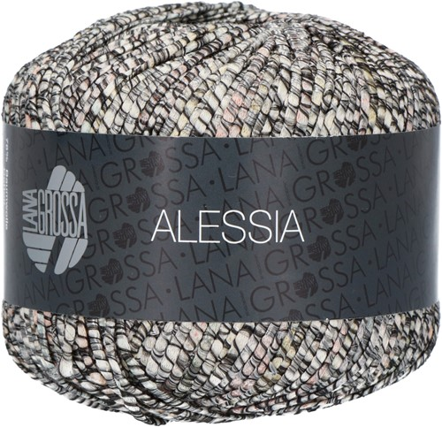 Alessia Overslag Trui Breipakket 3 36/38 Anthracite / gray / natural