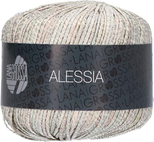 Alessia Vest Breipakket 1 36/38 Silver / gray green / ecru