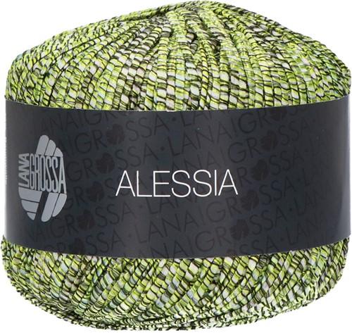 Alessia Ajour Trui Breipakket 2 40/42 Olive / pistachio / mint
