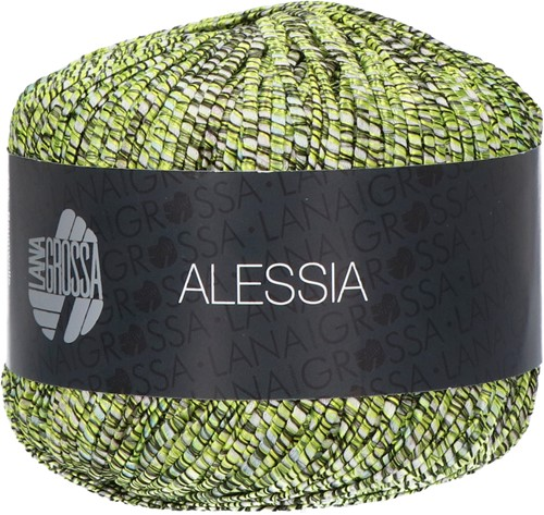 Alessia Ajour Trui Breipakket 2 44 Olive / pistachio / mintn