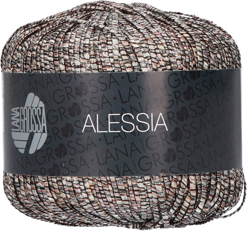 Alessia Top Breipakket 2 48 Black / copper / silver / hemp