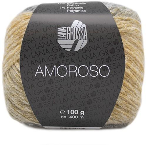 Amoroso Vest Breipakket 1 36/42 Grège / green beige / light gray / sand yellow