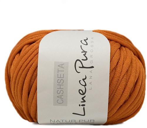 Lana Grossa Cashseta 34 Orange-Brown